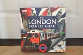 London Underground board game suitable age 7 yrs +
