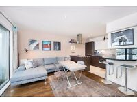 STUNNING 1 DOUBLE BEDROOM APARTMENT IN NW1!! CANAL VIEWS!! SOUGHT AFTER BUILDING!! GYM & PARKING!!