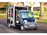 Aixam Mega D600 Coffee Van
