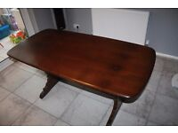 Vintage Ercol Refectory Dining Table