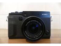 Fuji X30 In excellent, like new condition.