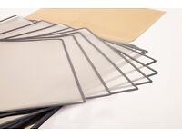 New Bohle Stitched Art Display Sleeves Anti-Static Crystal Clear Art Protection