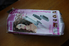 Hair curler, Braun independent style and go - new/unused