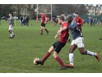 Sunday morning MEN'S 11 aside League football (South London)