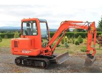 Daewoo Excavator 300 plus, Midi Digger, 846 hours only.