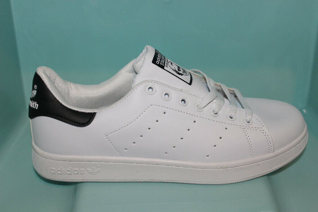 Adidas Stan Smith Men Shoes (whiteblack, size 8,5UK) | in Corby, Northamptonshire | Gumtree