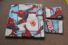 Double Spiderman bedding set