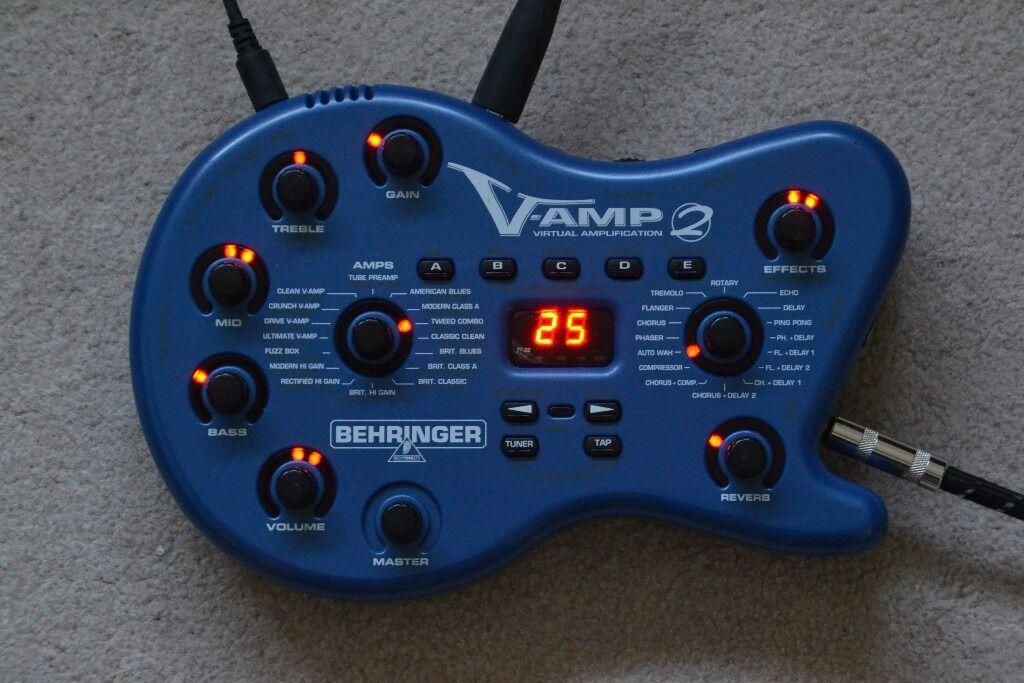 Behringer V Amp 2 guitar amp modelling and effects unit