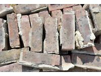Reclaimed Hand Made Bricks (600 approx. require cleaning)