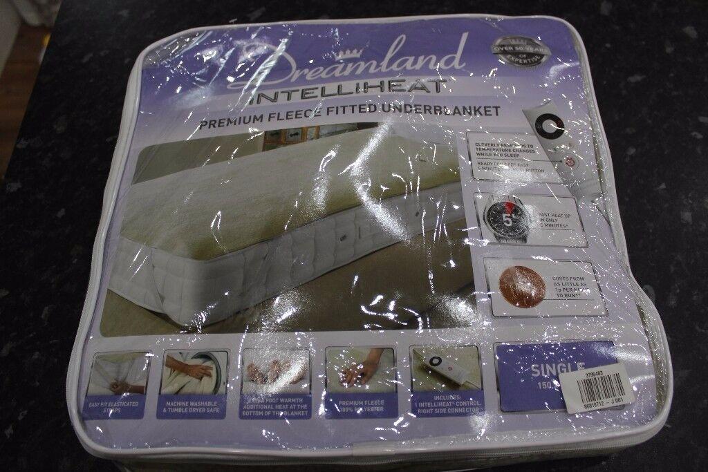 Dreamland Intelliheat Single Electric Underblanket And OverBlanket