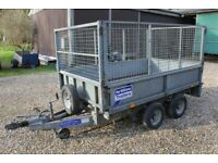 Ifor Williams LT85 Trailer with Mesh Sides