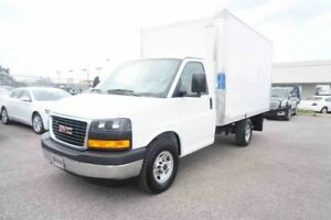 2017 CHEVROLET EXPRESS CUTAWAY CUBE 12'' ROUE SIMPLE
