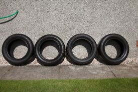 4 off 15 inch Bridgestone tyres 185/60 R15 84H only 200 miles usage