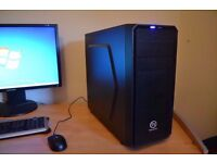 Gaming PC - i3 4330 - 16GB DDR3 - GTX 760 OC- 128GB SSD - 1TB HDD - WIFI - BUILT 05/07/16 + GAMES