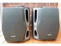 Aiwa TwinDuct 3 Way Base Reflex Speakers