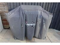 Landmann 4 burner gas BBQ with cover (gas bottle also available)