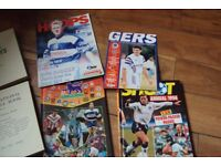 4 Football books 1962/94/95 + 8 Programmes