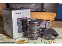 Canon EF 17-40 f/4 L lens. Fantastic condition