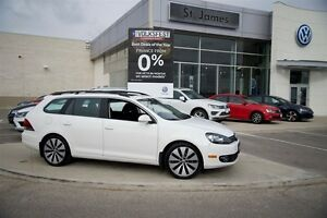 2013 Volkswagen Golf Wagon Sportline Special Edition at - Local