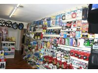 Car parts, car accessories and tools business for sale