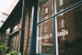 Full Time and Part Time Nail Technicians Needed - Shoreditch Nails