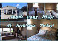 Modern Deluxe 3 Bedroom Caravan for hire Haggerston Castle