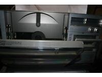 Vintage Sharp VZ-3000 both sides play disc combo system
