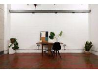 Studio 122 / Large creative studio space / office / workshop / workspace in Hackney, East London, E8