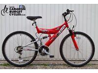 Shockwave 450 Dual Suspension Mountain Bike