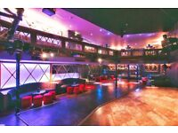 London's Hottest New Cabaret & Late Night Venue - Bar Staff/ VIP Waitresses/ Bar Support
