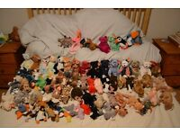 Original TY Beanie Babies Collectible toys with tags £40 job lot