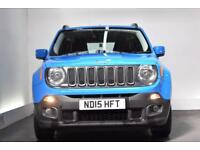 JEEP RENEGADE 1.6 M-JET LONGITUDE 5d 118 BHP (blue) 2015