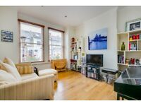 Biscay Road -ground floor two double bedroom end of terrace Victorian conversion flat
