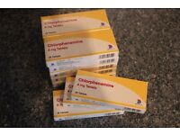 Piriton/Chlorphenamine 4mg 12x 28 boxes for Hayfever/Allergies
