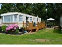 6 BIRTH CARAVAN FOR HIRE IN THE COASTAL TOWN OF HARWICH WITHIN EASY REACH OF THE BEACH