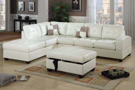 Leather White Sofa Lounge Sets New Style Burleigh Heads Gold Coast South Preview