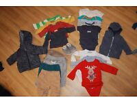 Boys bundle 0-3 from pets and smoke free house, previously worn but in excellent condition.