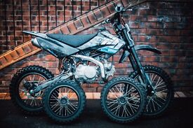 Welsh Pit Bike 125cc | CRF70 Frame | Big Wheels