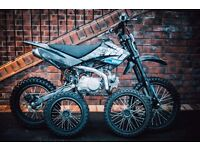 Welsh Pit Bike 125cc | CRF70 Frame | Big Wheels