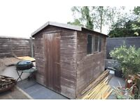 8ft x6ft timber garden shed