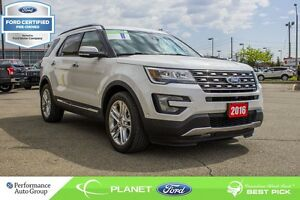 2016 Ford Explorer Limited FORD CERTIFIED LOW RATES & EXTRA WARR