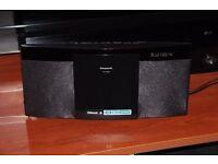 Panasonic SC-HC297EB-K 20 W DAB+ CD Micro Hi-Fi with USB and Wireless Audio via Bluetooth with NFC