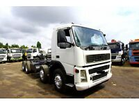 2005 VOLVO FM12 340 8X4 CHASSIS CAB WITH PTO PUMP TIPPER DAF TIPPER SCANIA TIPPER IVECO MAN