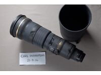 Nikon 500mm f4 AF-S
