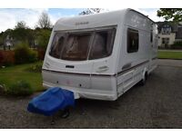 Excellent 2 Berth Touring Caravan, Luner Clubman 475 CK 2002