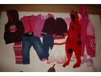 Big bundle of girls clothes 9 - 12 months