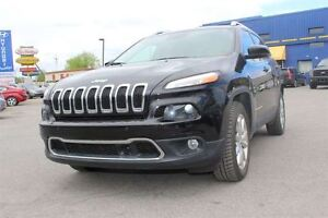 2015 Jeep Cherokee LIMITED!! AWD!! NAVI! CAMERA!! CUIR!!+++&nbsp