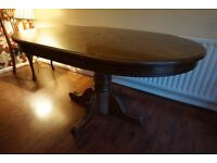 Extendable Dining Room Table - Location Underwood Notts, nr J27 of M1
