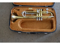 BOOSEY AND HAWKES TRUMPET WITH CASE