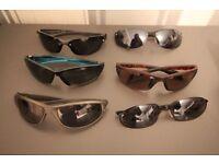 6 pairs of mens trendy sunglasses